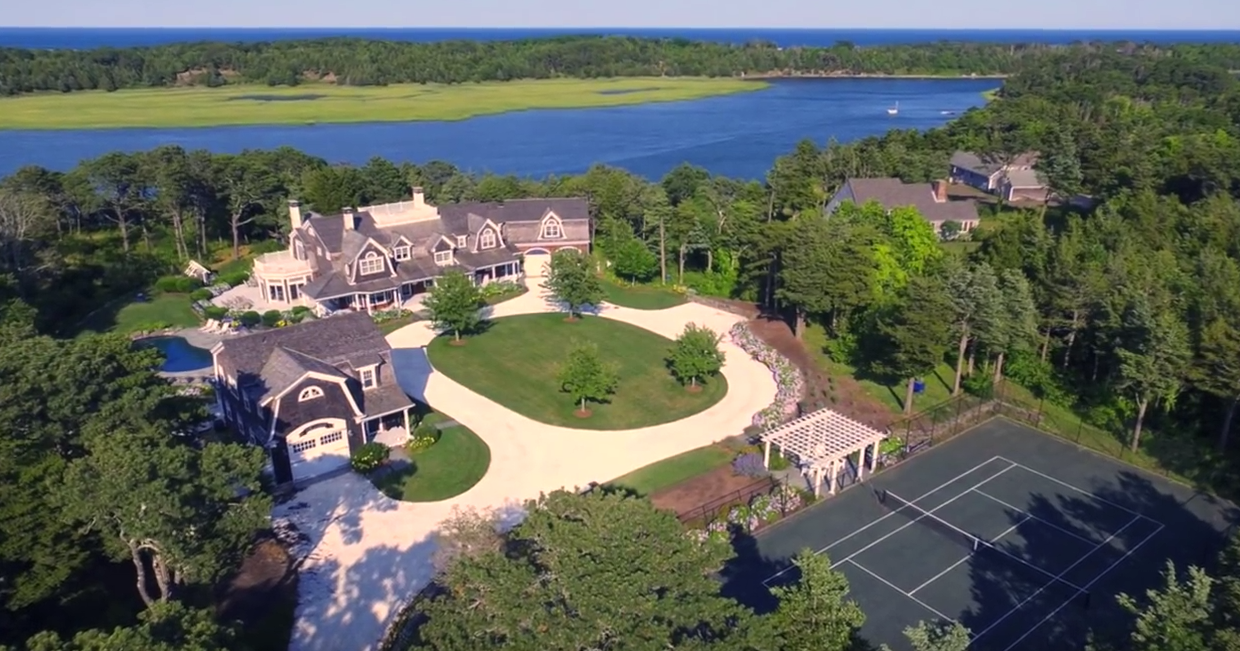 Cape Cod's Best Water Front Estate